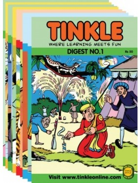 Best Of Tinkle Assorted Single Digest Pack Of 10