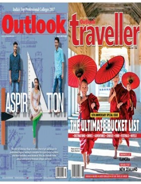 Outlook And Outlook Traveller Combo Magazine
