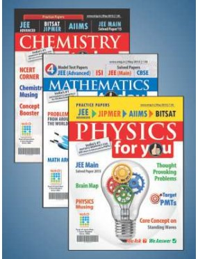 Physics For You+Chemistry Today+Mathematics Combo
