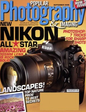 Popular Photography and Imaging Magazine - US Edition