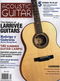 Acoustic Guitar Magazine - UK Edition