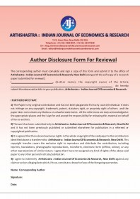 Arthshastra Indian Journal of Economics and Research