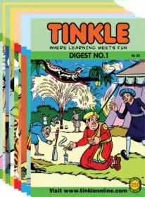 Best Of Tinkle Digest Assorted Pack Of Five