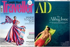 Architectural Digest + Conde Nast Traveller Magazine Combo