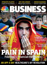 CNBC European Business Ex Magazine - UK Edition