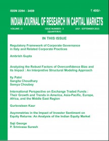 Indian Journal of Research in Capital Markets