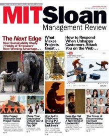 Mit Sloan Management Magazine - US Edition