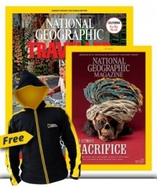 National Geographic and National Geographic Traveller Combo
