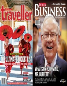 Outlook Traveller And Outlook Business Combo Magazine
