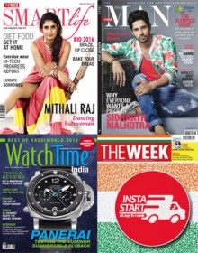 The Week and The Man and Smartlife and Watchtime Magazine Combo