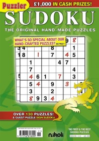 The Puzzler Sudoku Magazine - UK Edition