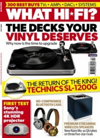 What Hi Fi Sound and Vision Magazine - UK Edition