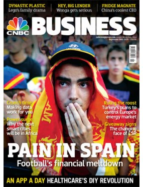 CNBC European Business Ex Magazine - UK Edition
