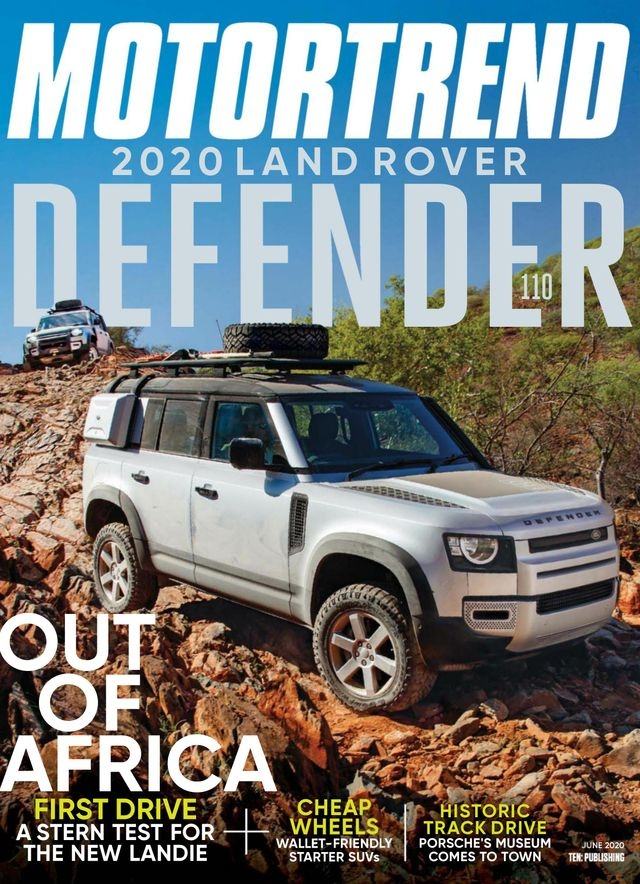 Motor Trend Magazine Us Edition Subscription Auto Magazine